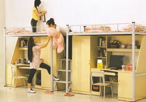學生宿舍組合床