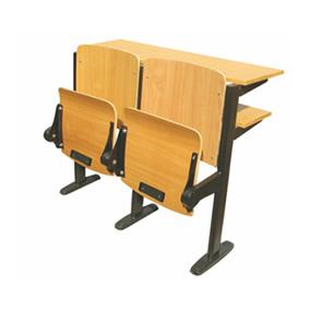 鋼管自重翻板課桌椅