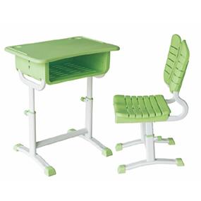 旋鈕式升降課桌椅