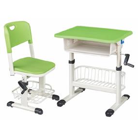塑鋼升降課桌椅