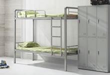 學生宿舍雙層鐵床的尺寸規格介紹,學生宿舍鐵床批發廠家哪個好?